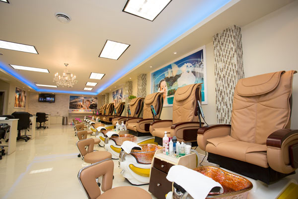 Home of Beauty World Nails & Spa